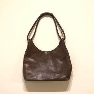 Dreamy brown Brahmin shoulder satchel